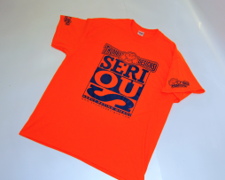 Thumbs Designs Serious about racing micros T shirt