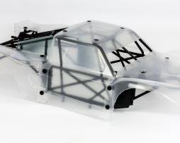 Losi 5IVE-T 5T Bodyshell and Cage unpainted NEW